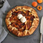 Aprikosen Pflaumen Nektarinen Galette | Bake to the roots