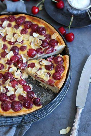 German Cherry Tart (Kirschwähe)
