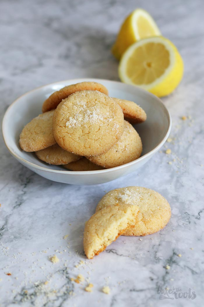 Lemon & Rosemary Cookies | Bake to the roots