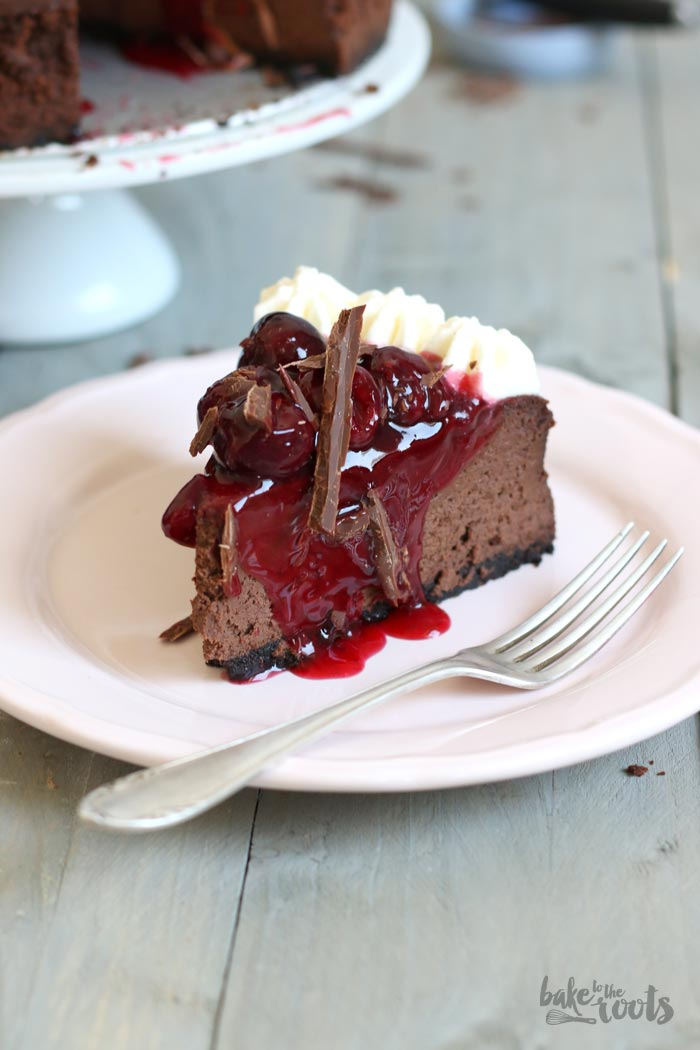 Black Forest Cheesecake | Bake to the roots