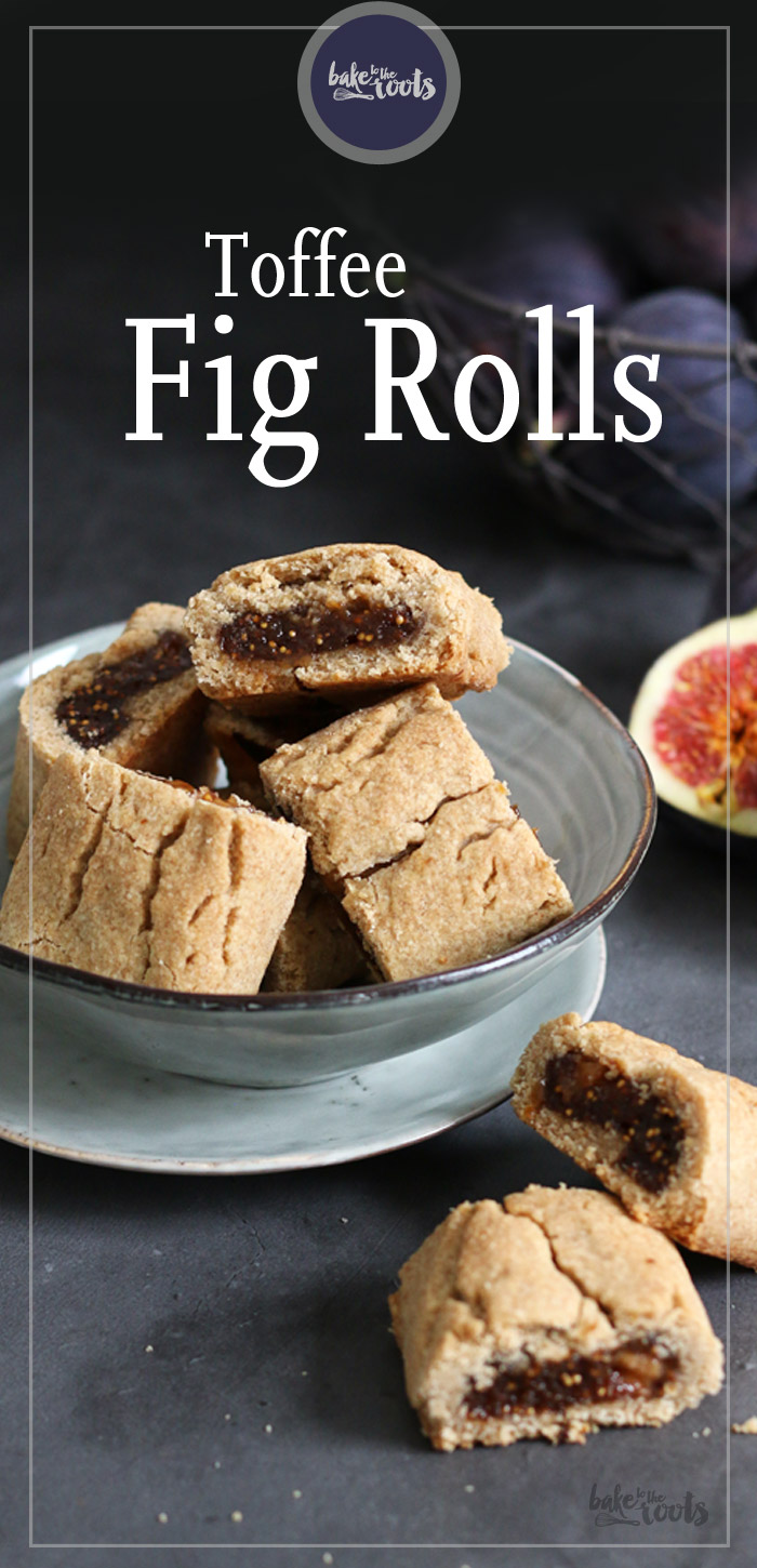 Toffee Fig Rolls | Bake to the roots