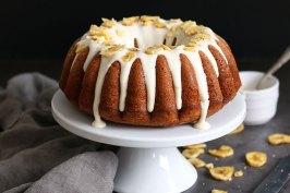 Banana Rum Bundt Cake | Bake to the roots
