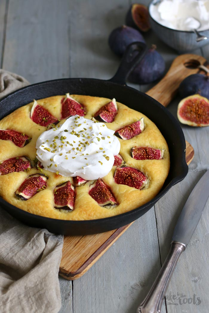 Olive Oil Cake with Figs | Bake to the roots