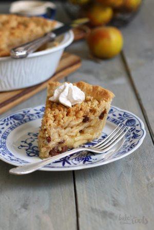 Apfel Crumble Pie