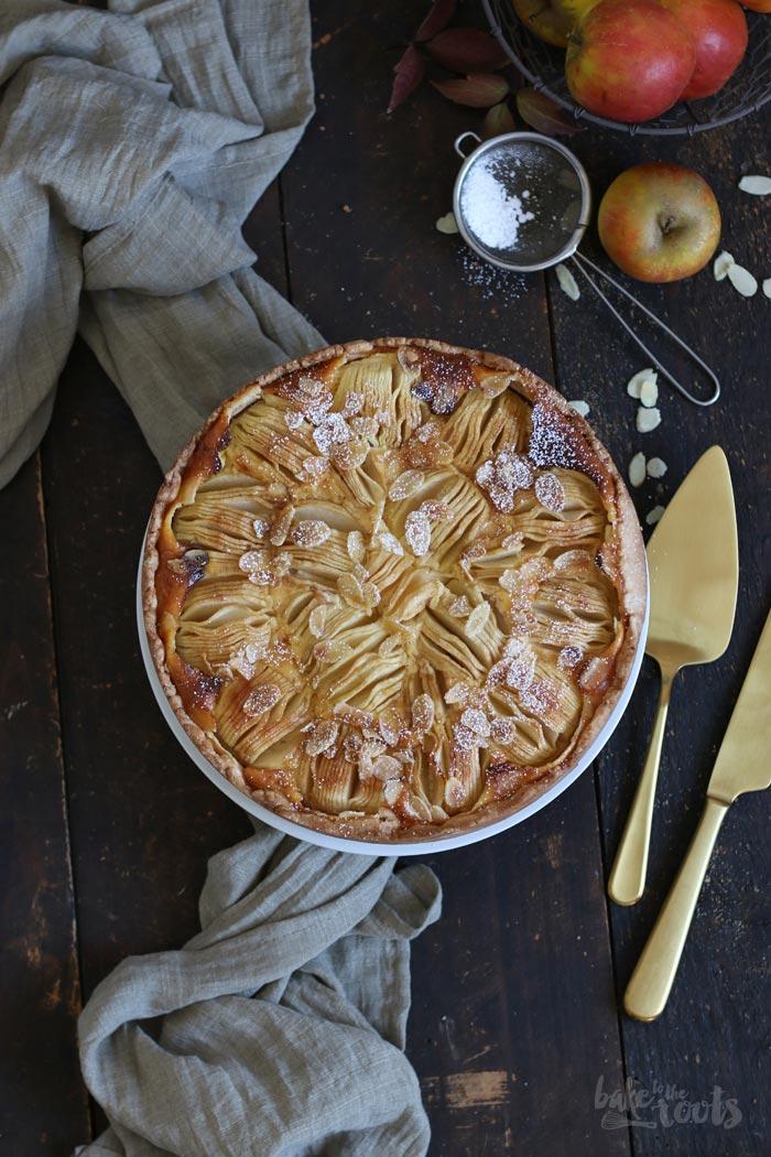 Apfel Schmand Kuchen | Bake to the roots