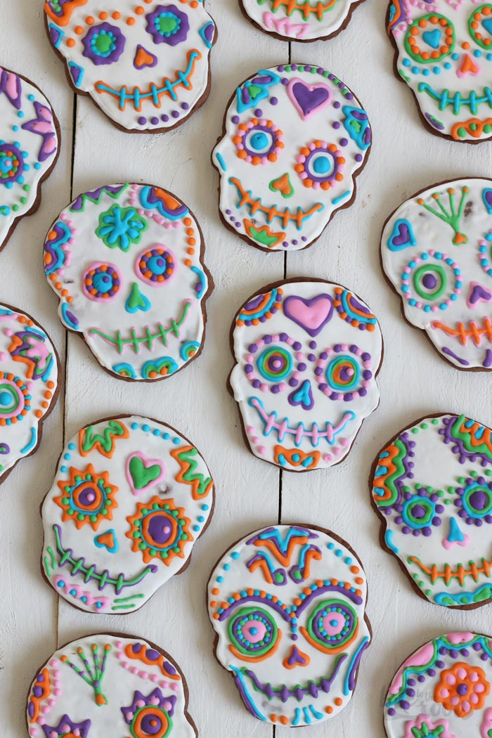 Day of the Dead Cookies | Bake to the roots