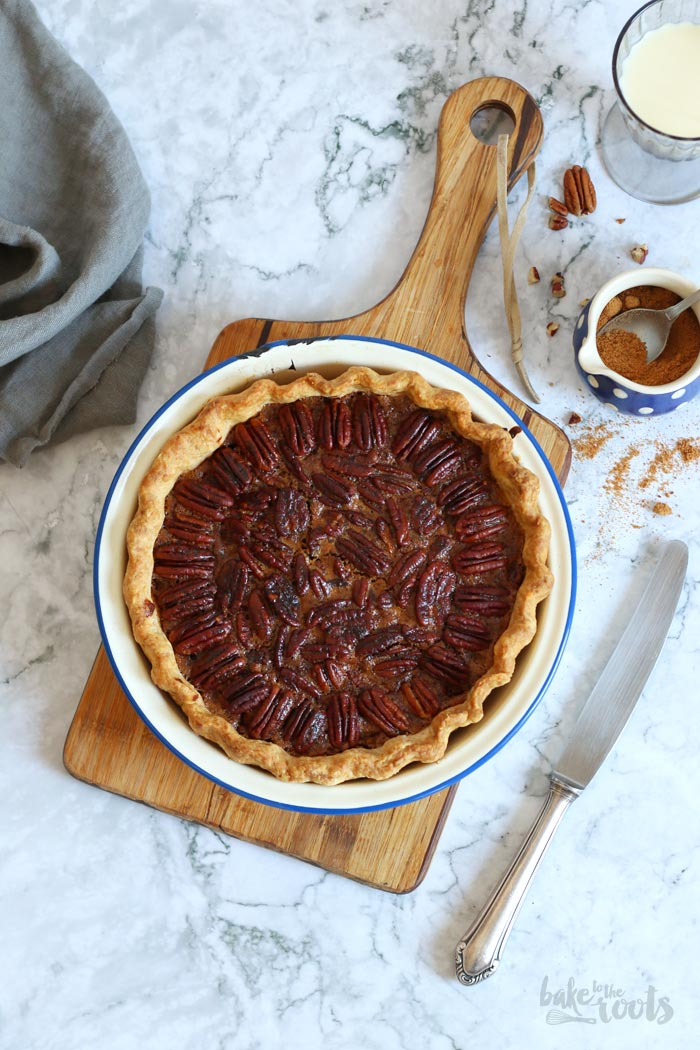 The Best Pecan Pie | Bake to the roots