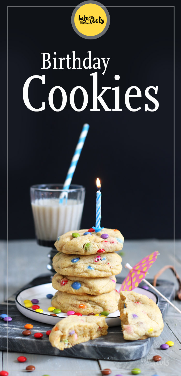 Birthday Cookies | Bake to the roots