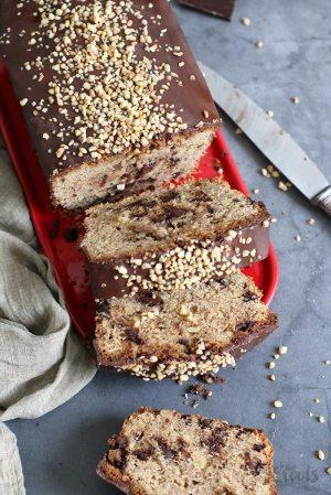 Chocolate Hazelnut Loaf Cake