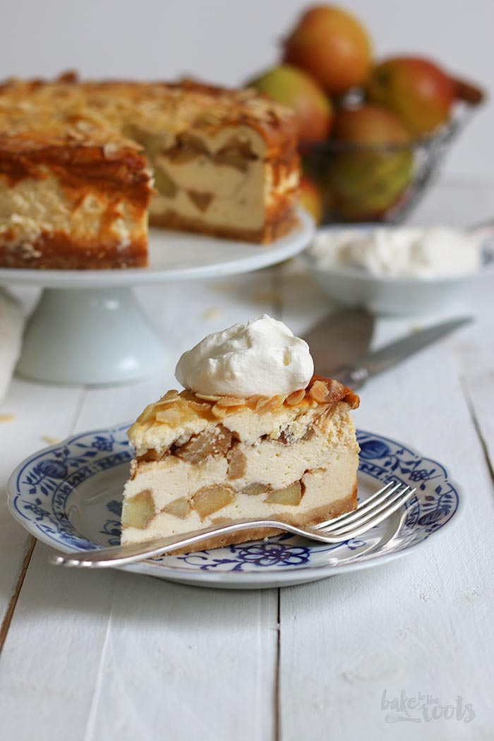 German Apple Cheesecake   Bake to the roots