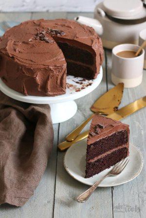 Keto Schokoladenkuchen (zuckerfrei & low-carb)