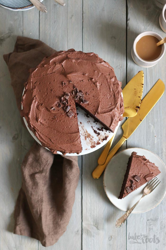 Keto Chocolate Cake (sugar-free & low-carb)   Bake to the roots