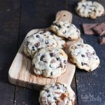 Browned Butter Daim Cookies | Bake to the roots