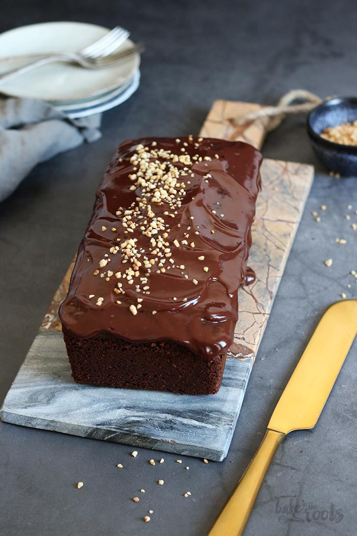 Sour Cream Hazelnut Chocolate Cake | Bake to the roots