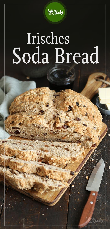 Irisches Soda Bread mit Rosinen und Cranberries   Bake to the roots