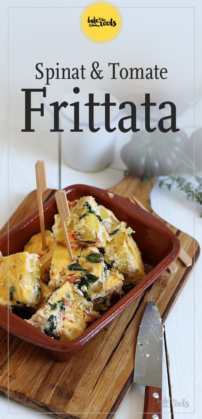 Spinat & Tomate Frittata | Bake to the roots