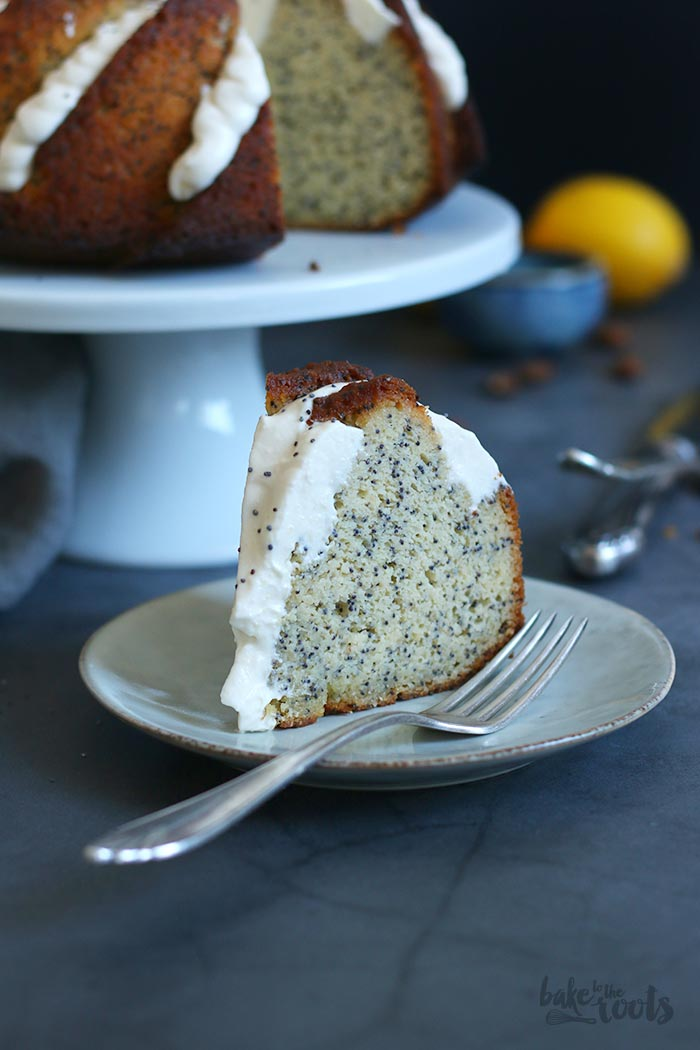 Keto Lemon Poppy Seed Gugelhupf | Bake to the roots