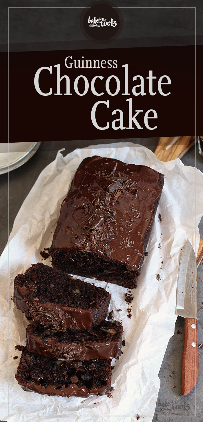 Guinness Chocolate Cake with Sour Cream Glaze | Bake to the roots
