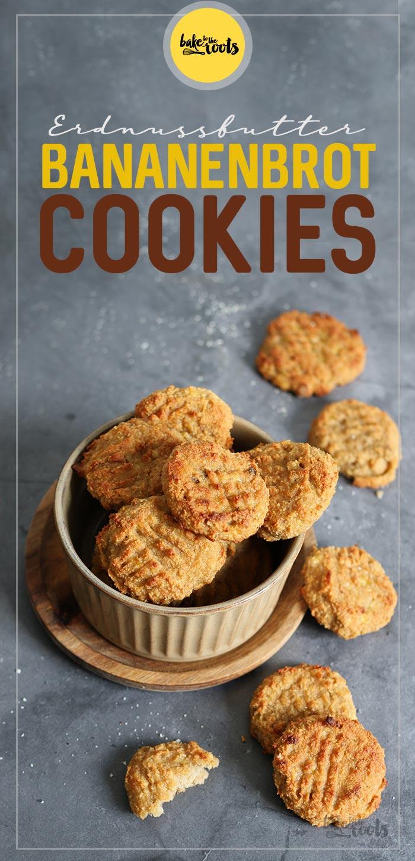 Erdnussbutter Bananenbrot Cookies | Bake to the roots