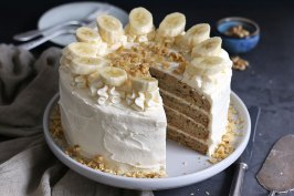 Banana Layer Cake | Bake to the roots
