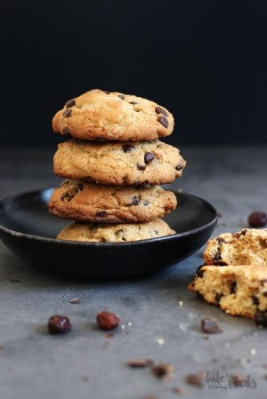 Chunky Cranberry Chocolate Chip Cookies