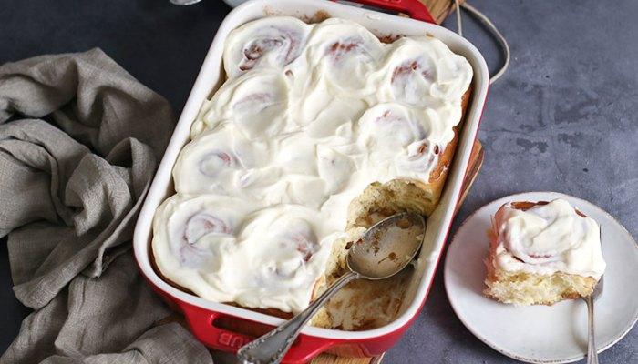 Overnight Cinnamon Rolls   Bake to the roots