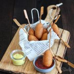 Mini Corn Dogs | Bake to the roots
