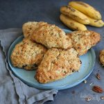 Banana Bread Scones | Bake to the roots