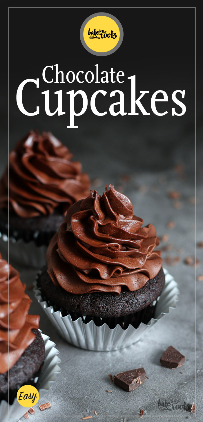 Chocoholic Cupcakes | Bake to the roots