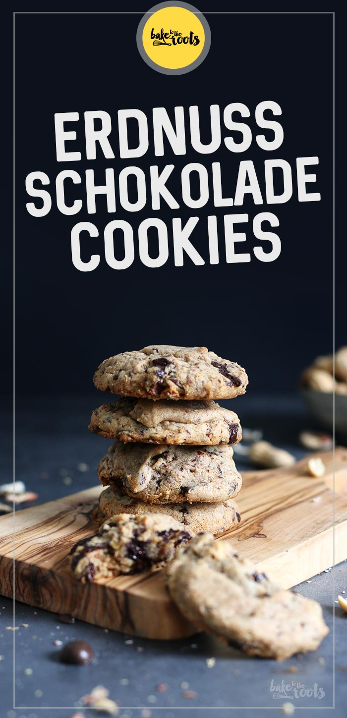 Erdnuss Schokolade Cookies | Bake to the roots