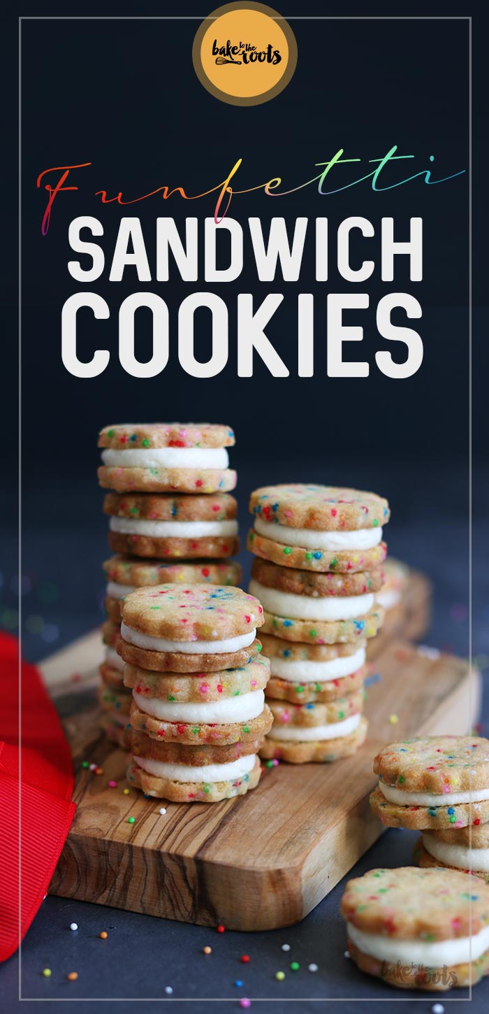 Funfetti Sandwich Cookies | Bake to the roots