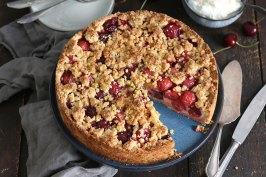 Kirsch Streuselkuchen | Bake to the roots