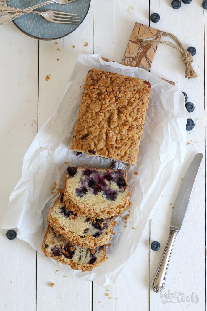 Blueberry Streusel Loaf Cake   Bake to the roots