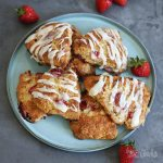 Strawberry Scones | Bake to the roots