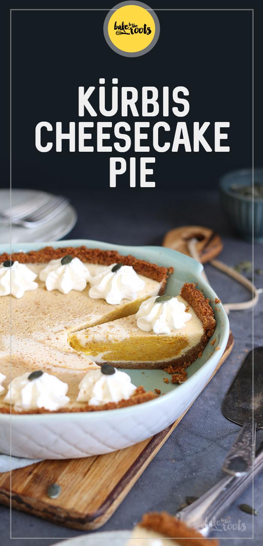 Kürbis Cheesecake Pie   Bake to the roots