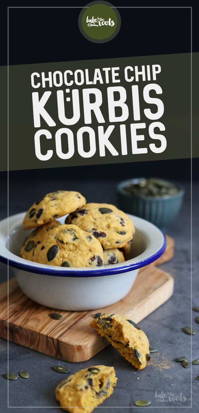Kürbis Chocolate Chip Cookies | Bake to the roots