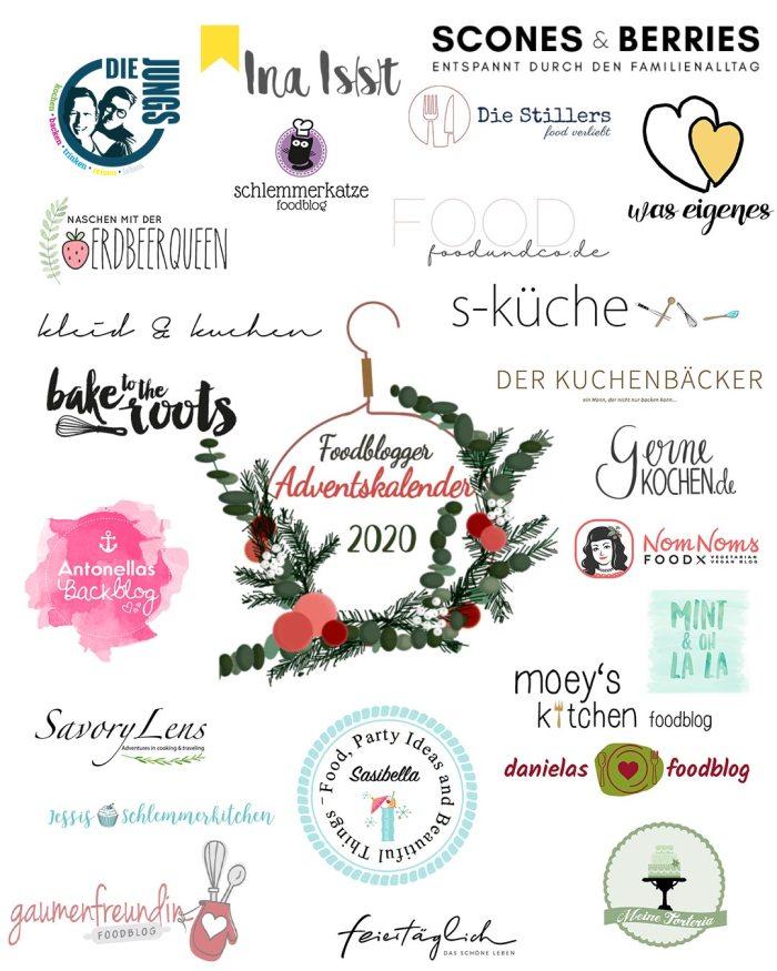 Foodblogger Adventskalender 2020 | Alle Teilnehmer