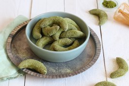 Matcha Kipferl | Bake to the roots