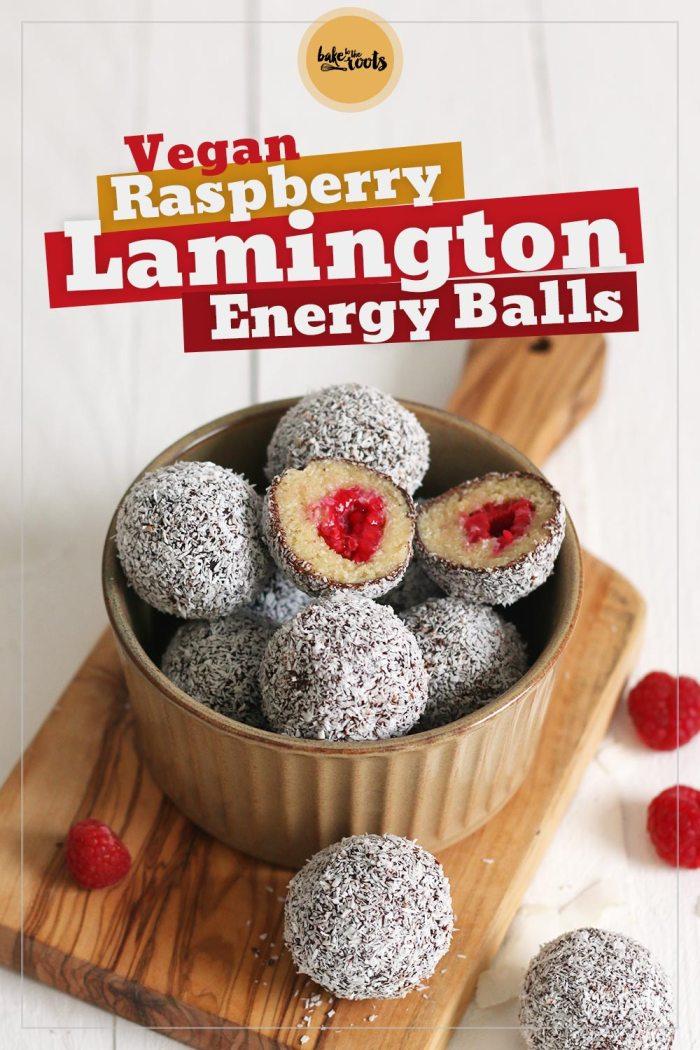 Vegan Raspberry Lamington Energy Balls   Bake to the roots