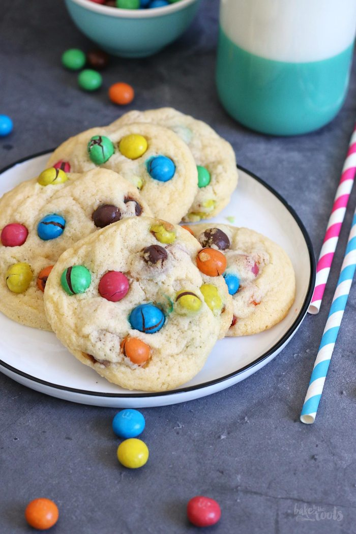 Crispy M&M's Cookies | Bake to the roots