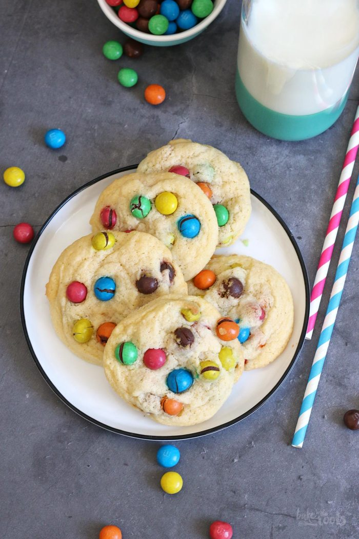 Crispy M&M's Cookies   Bake to the roots