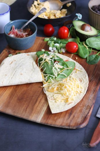 Breakfast Quesadillas   Bake to the roots
