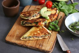Breakfast Quesadillas | Bake to the roots
