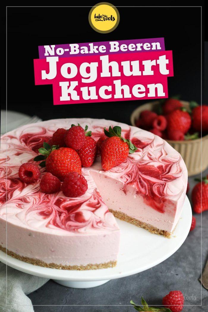 No-Bake Beeren Joghurt Kuchen   Bake to the roots