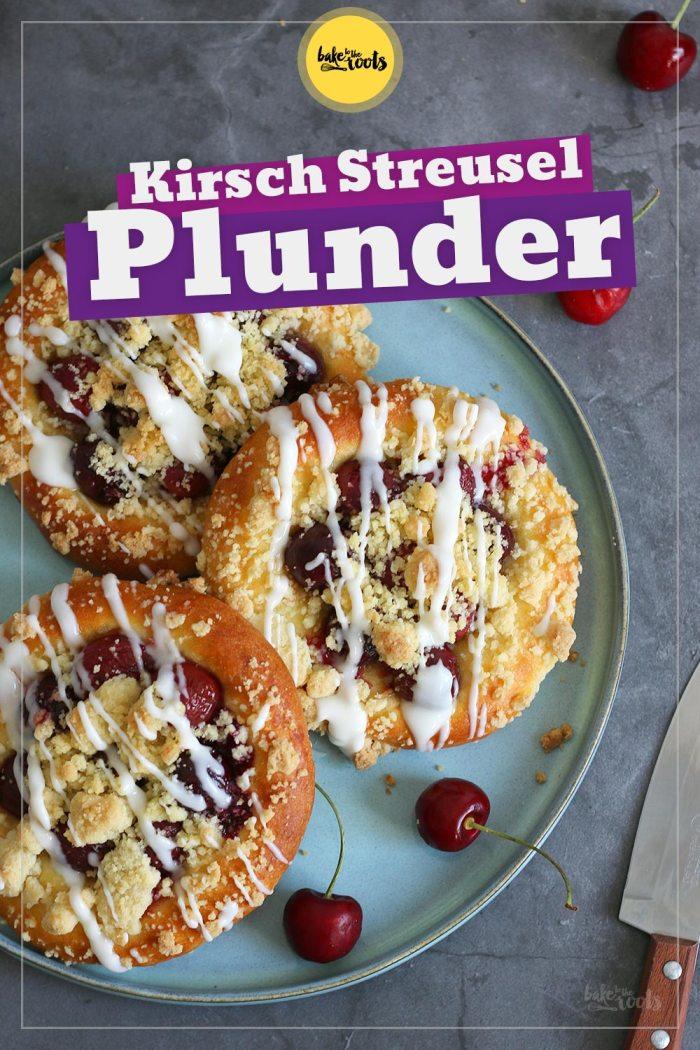Kirsch Streusel Plunder (mit Quark-Öl-Teig) | Bake to the roots
