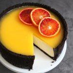 Orange Chocolate Cheesecake | Bake to the roots