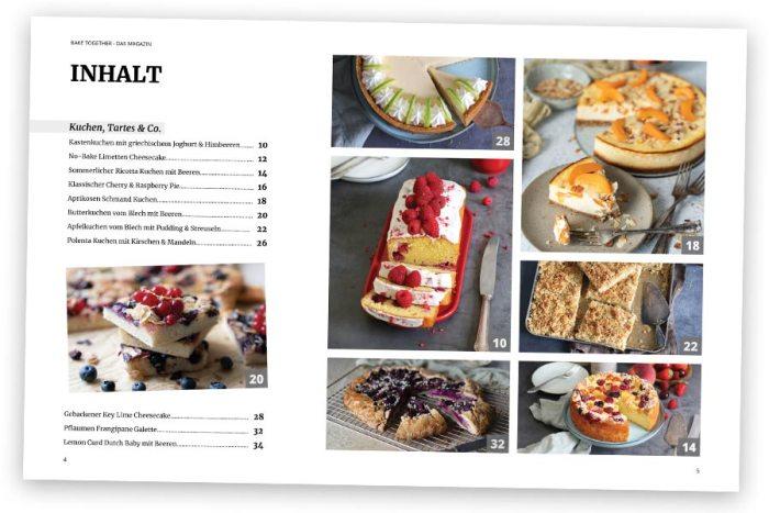 Bake Together Summer Edition 2021 E-Book – Inhalt
