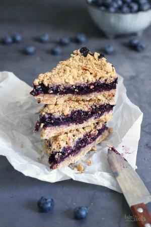 Blueberry Streusel Bars