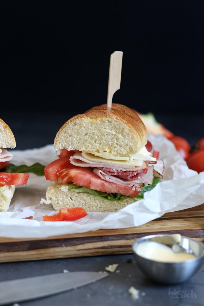 Italian B.M.T. Sandwiches | Bake to the roots