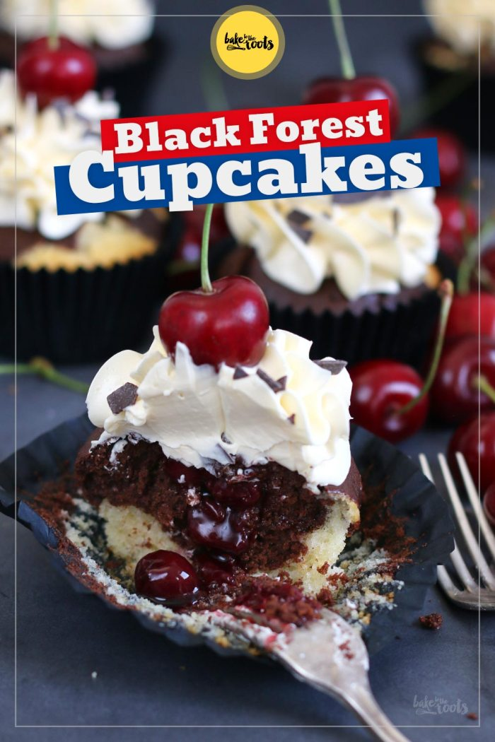 Black Forest Cupcakes | Bake to the roots